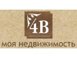 Логотип 4В, агентство недвижимости и туризма
