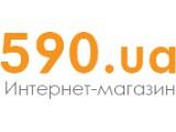 Логотип 590.ua, интернет-магазин