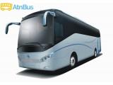 "Логотип ""atnbus"" - он-лайн продажа билетов на автобус"
