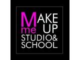Логотип Make Me Up Studio and School