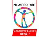 Логотип Вывески New Prof Art
