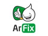 "Логотип Интернет-магазин ""ArFix.com.ua"""